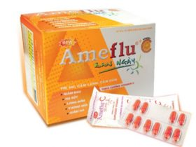 Ameflu Day Time C vàng 10 vỉ x 10v